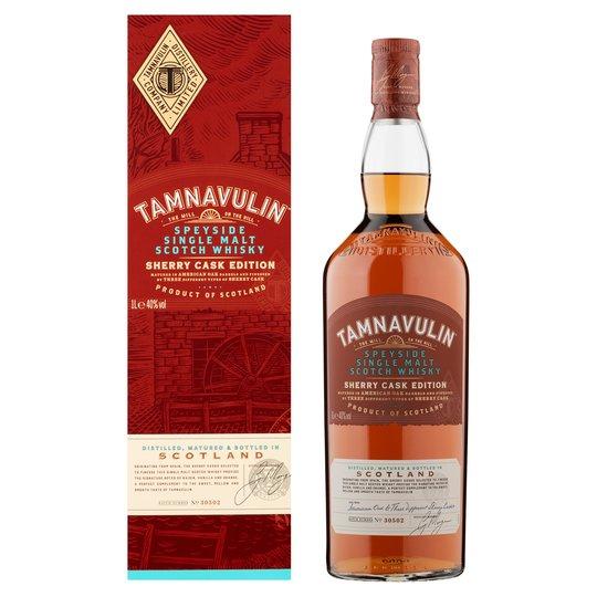 Bouteille de Whisky Tamnavulin Sherry Cask eddition - 70 cl