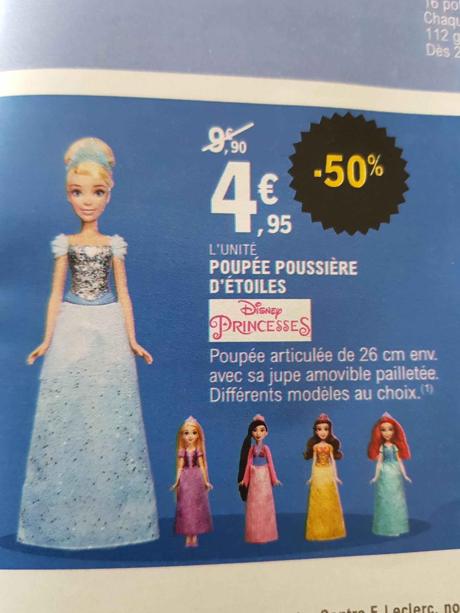 Jouet Poupée Poussière d'étoiles Disney Princesses