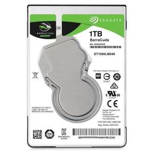 "Disque dur interne 2.5"" Seagate BarraCuda - 1 To, 5400 trs/min"