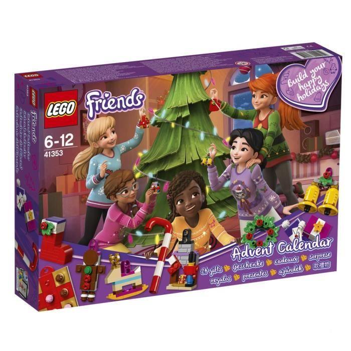Jouet Lego Calendrier de l'Avent Friends Friends - Calendrier de l'Avent Noël (41353)