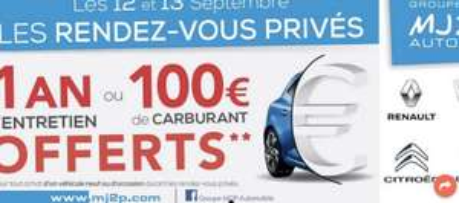 1 an d'entretien ou 100€ de carburant offert pour l'achat d'un véhicule neuf ou d'occasion- Renault St. andré de Cubzac (33)