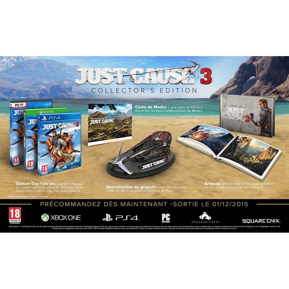 Superpoints jusqu'à x50 chez Espace3Games - Ex : Just Cause 3 Collector PS4 (+ jusqu'à 32,50€ en SuperPoints)