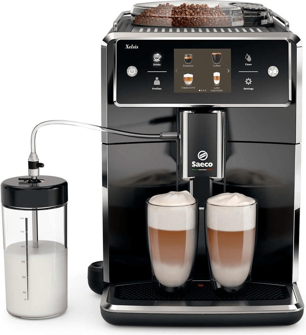 Machine à expresso automatique avec broyeur de grains Philips Saeco Xelsis (SM7580/00) - reconditionné (via code)