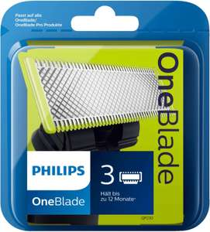 Pack de 3 lames de rechange Philips OneBlade QP230/50 - Chambly (60)