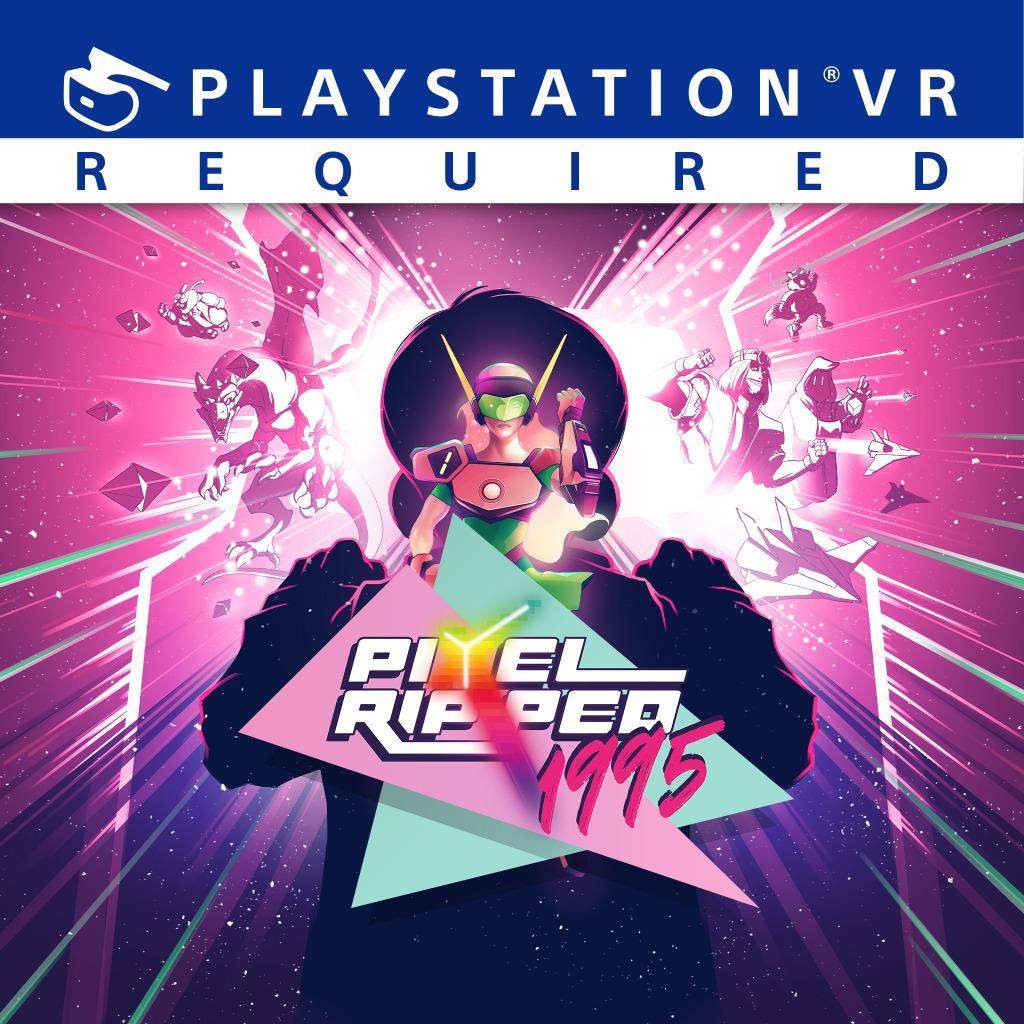 Pixel ripped 1995 VR sur PS4 (Dématerialisé)