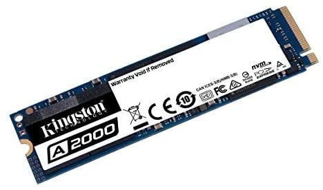 SSD interne M.2 NVMe Kingston A2000 (TLC 3D, DRAM) - 500 Go