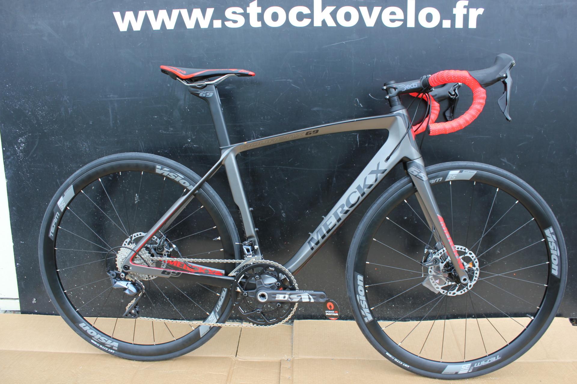 Vélo de course Eddy Merckx Mourenx 69 Disc - Shimano Ultégra Disc TRP 8000 11V (stockovelo.fr)