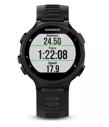 Montre GPS Multisports avec Cardio Poignet Garmin Forerunner 735 XT - Noir
