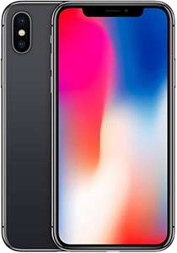 "Smartphone 5.8"" Apple iPhone X - Gris sidéral, 64Go (Reconditionné)"