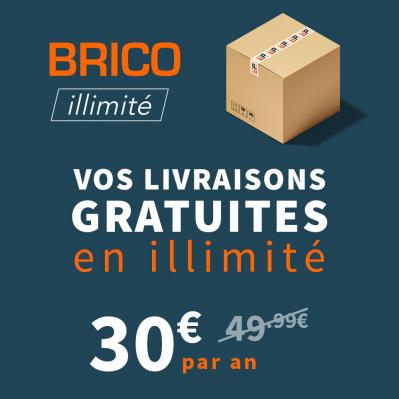 Abonnement Annuel Brico illimité (livraisons gratuites à partir de 50€)