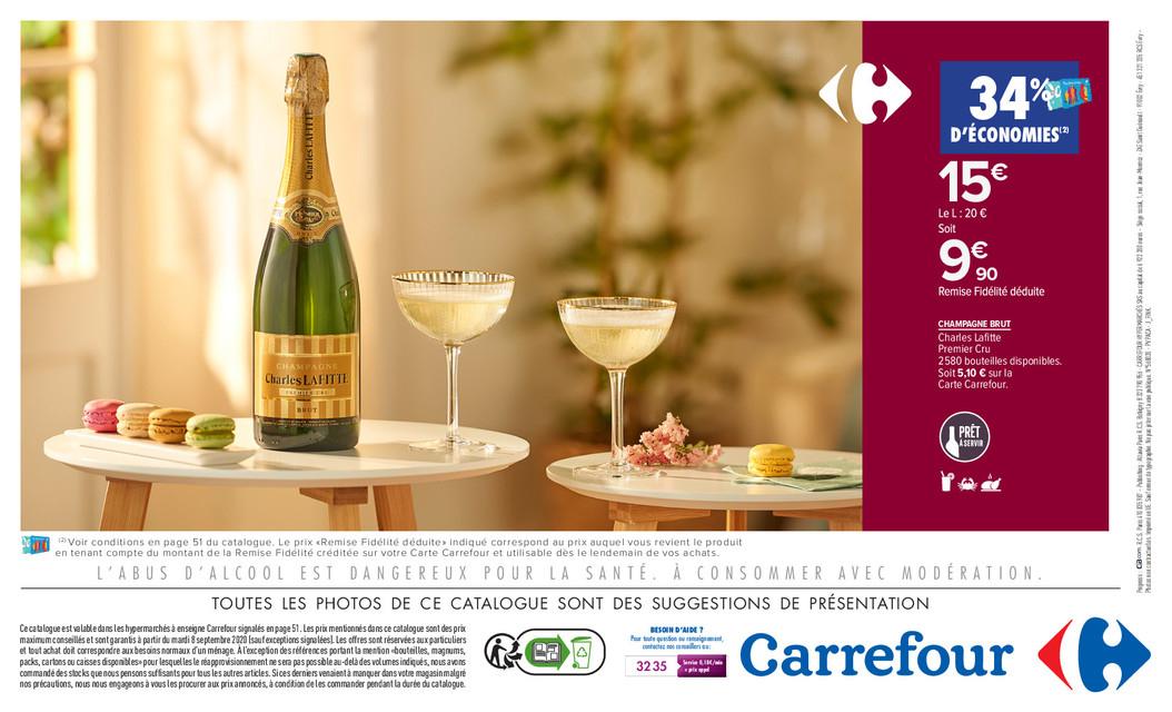 Champagne Charles Laffitte (via 34% sur lacarte) - National