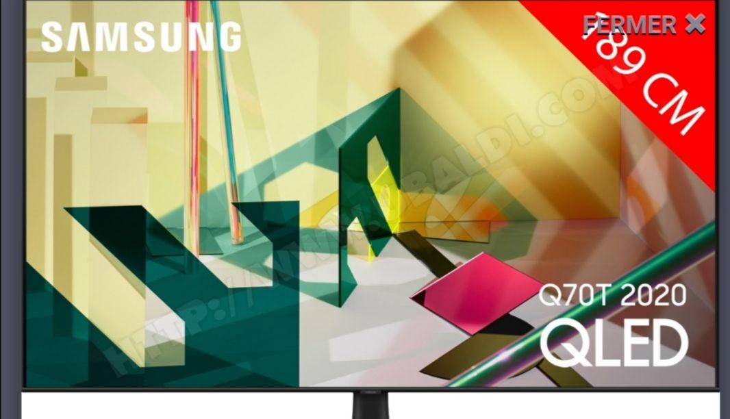"TV 75"" Samsung 75Q70T (2020) - QLED, 4K UHD (Via ODR 500€)"