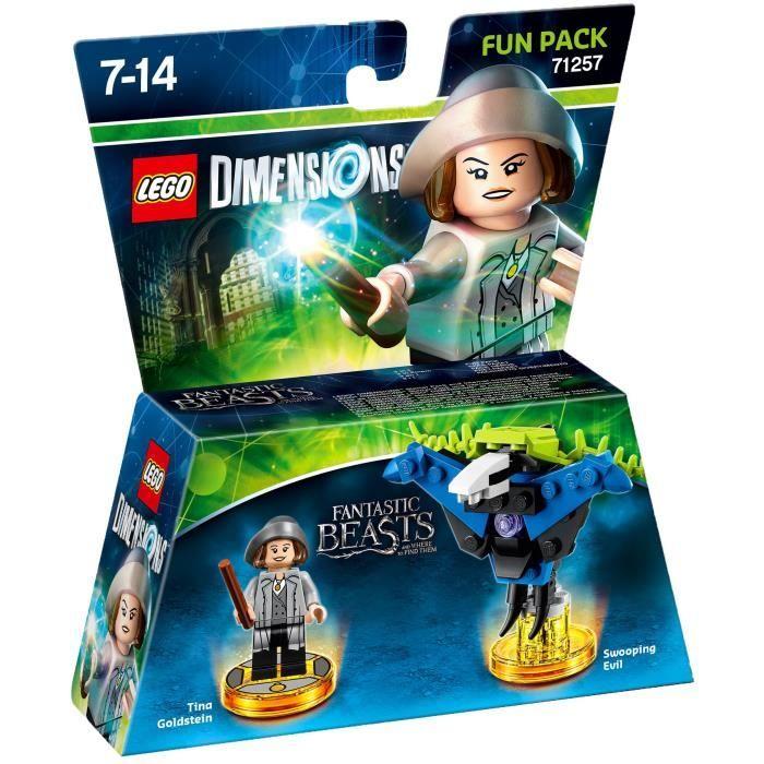 Pack Héros Lego Dimensions : Les Animaux Fantastiques n°71257