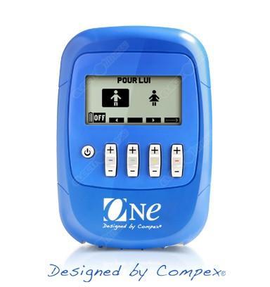 Electrostimulateur  Compex One Bleu