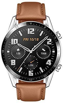 Montre connectée Huawei Watch GT2 - Version cuir (Vendeur Tiers)