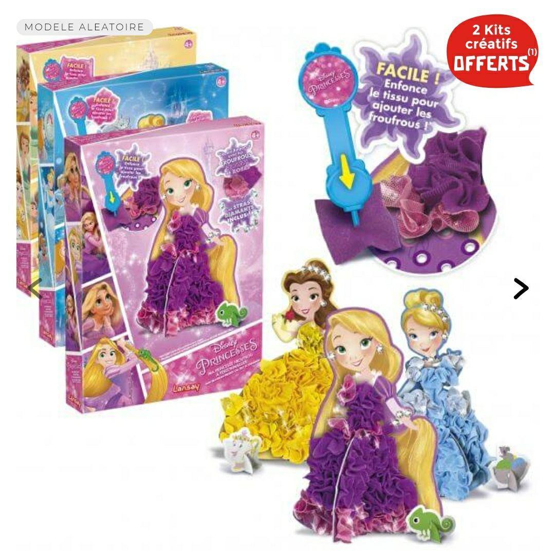 1 Kit créatif Ma princesse Disney froufrou Acheté = 2 kits offerts