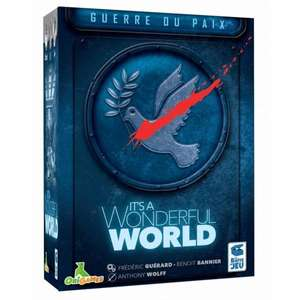 Extension jeu de société It's A Wonderful World - Guerre Ou Paix (ludum.fr)