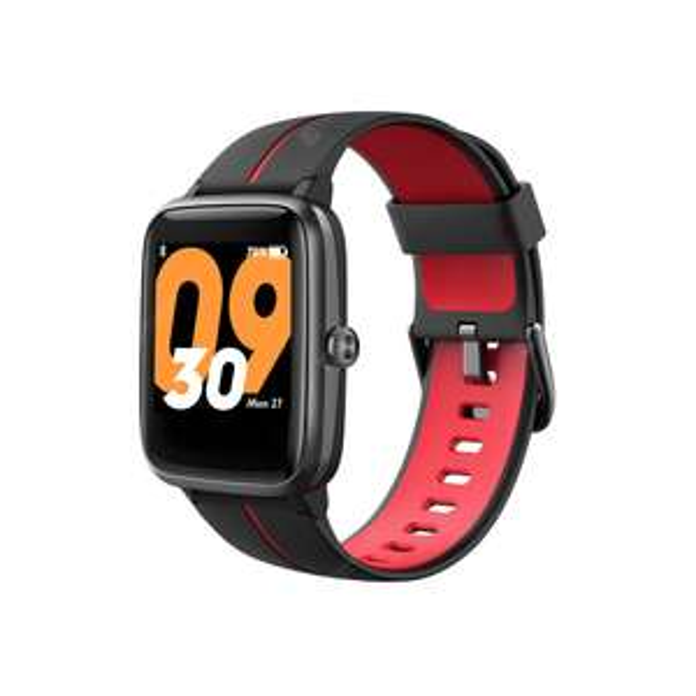 [Pré-commande] Montre connectée TicWatch TicKasa - GPS, fréquence cardiaque, vibrations, noir/rouge ou noir/vert (entrepôt DE)