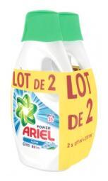 2 Bidons de Lessive liquide Ariel Alpine - Oriignal ou febreze (via 8.81€ fidélité)