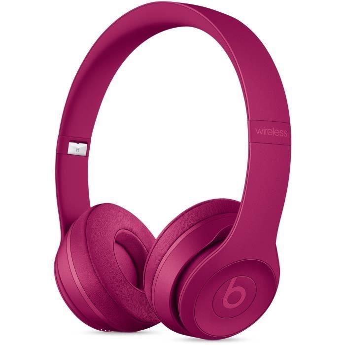 Casque Beats Solo3 - Bluetooth, Brick Red