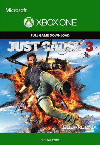 Jeu Just Cause 3 sur Xbox One (Dématérialisé, frais inclus)
