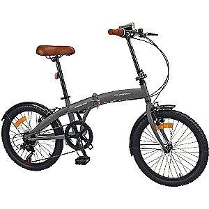 """Vélo pliant 20"""" Mercier - V-Brake, 6 vitesses, Jantes aluminium"""