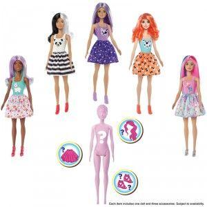 Figurine poupée Barbie - Color reveal (Via 9,95€ sur carte de fidélité)