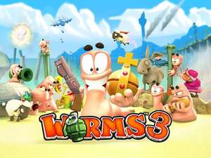 Worms 3 sur iOS
