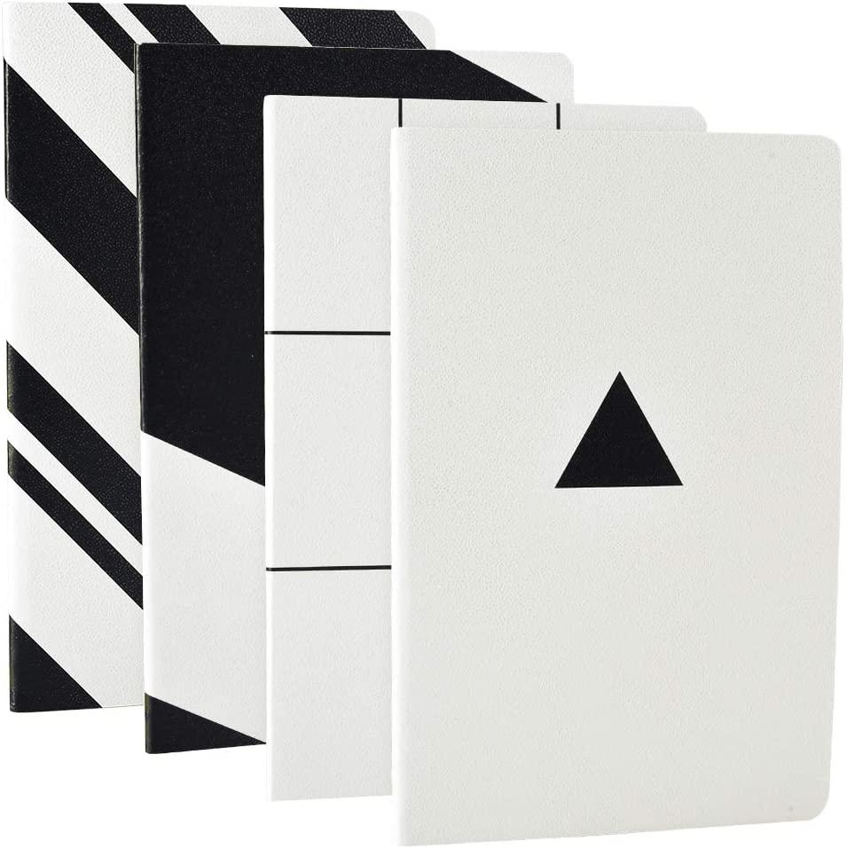 Sélection d'articles en promotion - Ex : Lot de 4 carnets de notes format A5 - 20,5x13,5 cm, 64 pages (vendeur tiers)