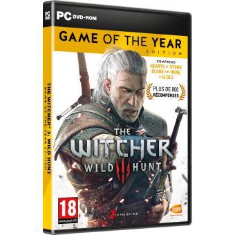 Jeu The Witcher 3: Wild hunt sur PC - Edition GOTY (Dématérialisé - gog.com DRM Free)