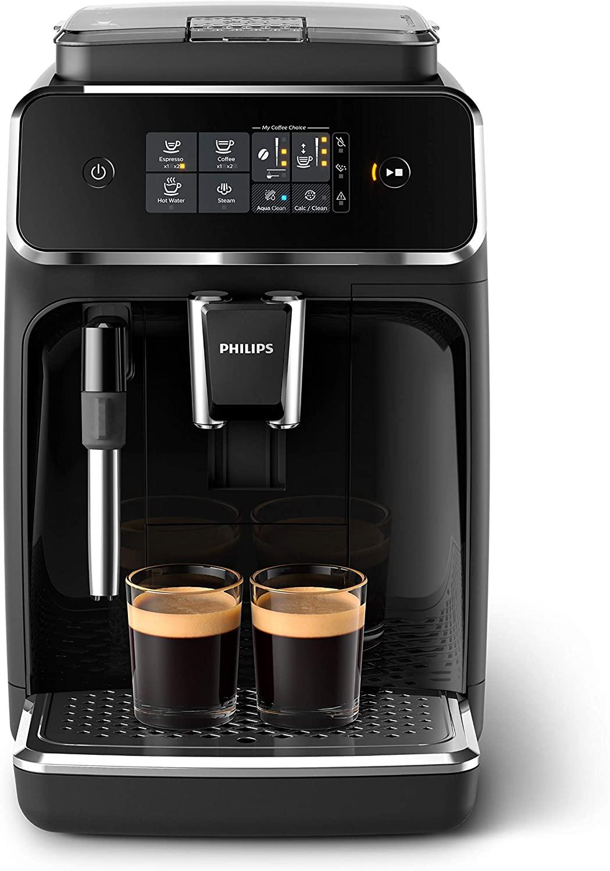 Machine expresso à café grains avec broyeur Philips Series 2200 EP2221/40