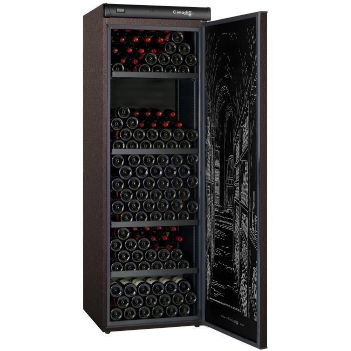 Cave à vin de vieillissement Climadiff CLV254M (254 bouteilles)