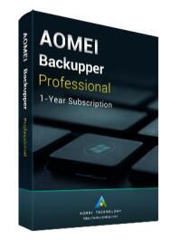 Logiciel Aomei Backupper Pro 6.0 gratuit sur PC (Dématérialisé)