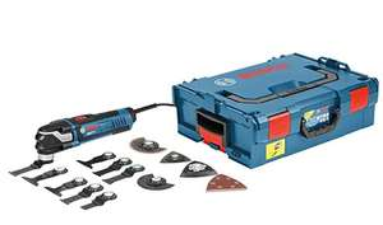 Découpeur-ponceur Bosch Professional Multi-Tool GOP 40-30 (400W, Starlock-Plus) + L-Boxx + Accessoires