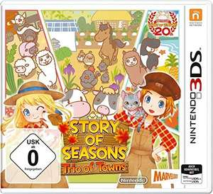 Story of seasons Trio of Town sur Nintendo 3DS