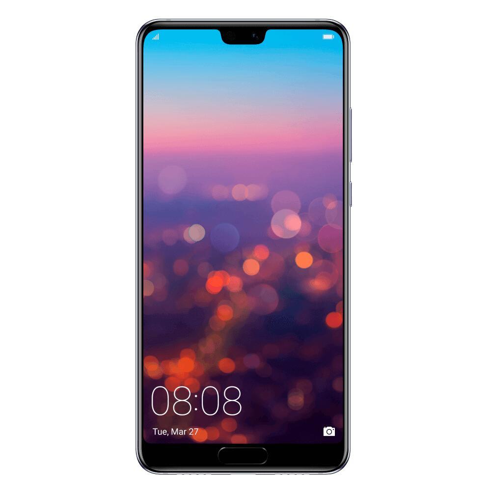 "Smartphone 5.84"" Huawei P20 - Full HD+, Kirin 970, RAM 4 Go, 128 Go, Twilight (Reconditionné Comme neuf - Garantie 6 mois)"