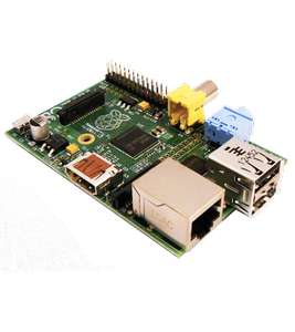 Raspberry pi 512Mo model B (11,95€ de frais de port)