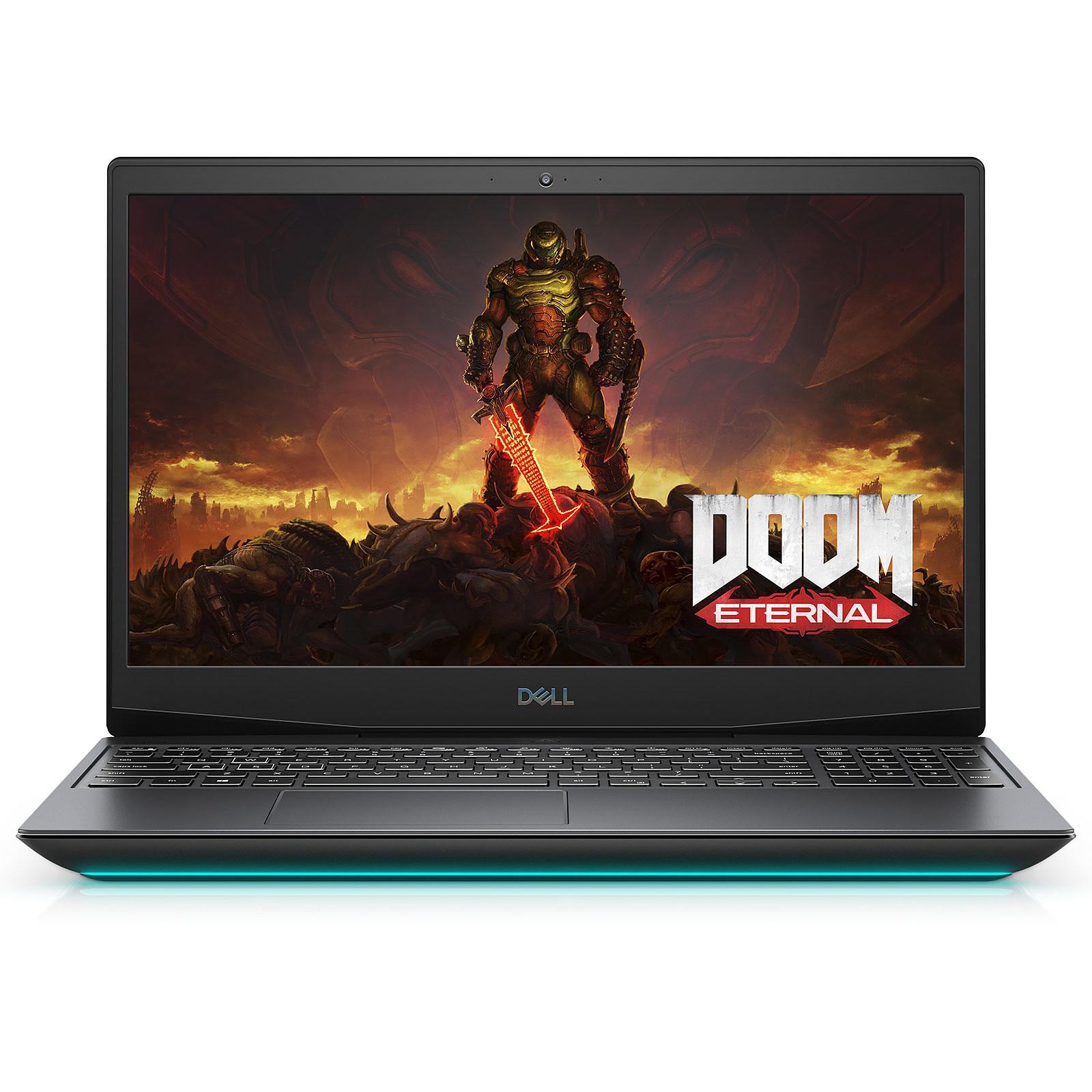 "PC portable 15.6"" Dell G5 15 - Full HD 144 Hz, i7-10750H, 8 Go RAM, 512 Go SSD Nvme, GTX 1660 Ti, Windows 10 (via ODR 100€)"