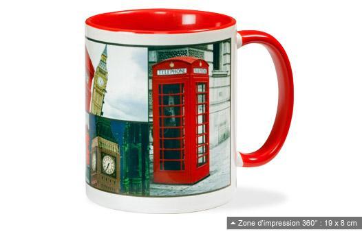 [Nouveaux Clients] Mug personnalisable gratuit (3.99€ frais de port)