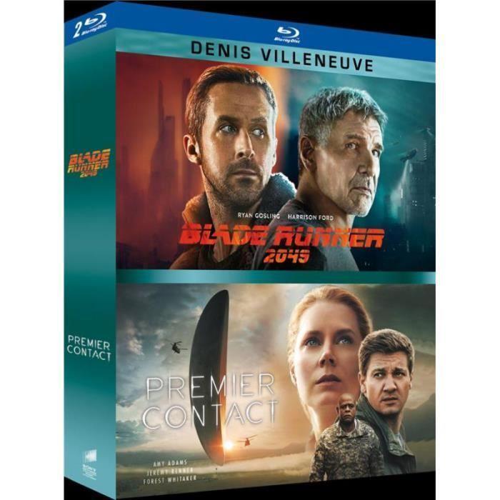 Coffret Blu-ray Blade Runner 2049 + Premier Contact