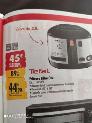 Friteuse Tefal Filtra One - FF175D71