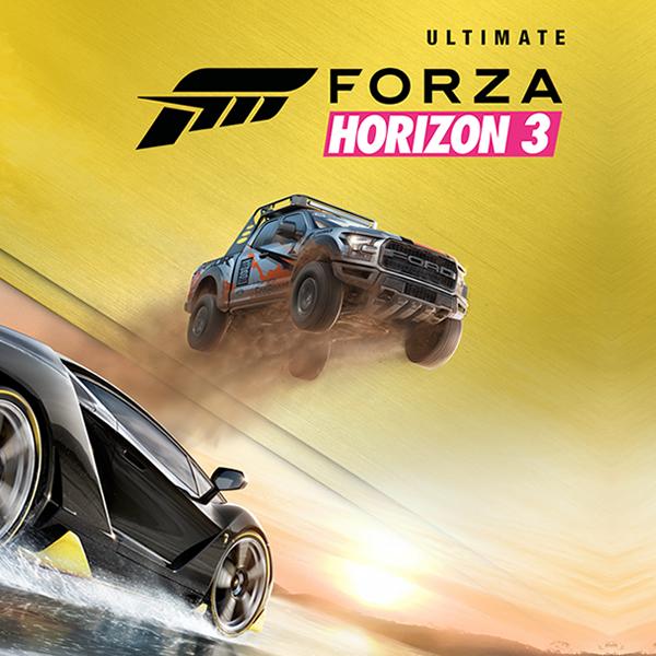 Forza Horizon 3 - Édition Ultimate sur Xbox One / PC (dématérialisé)