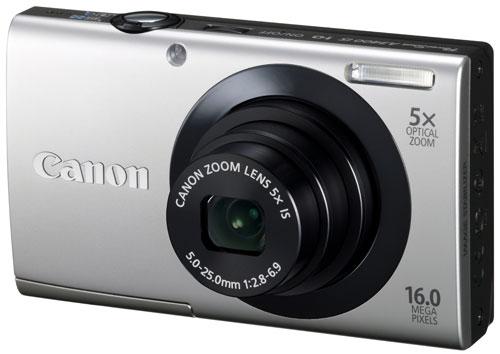 Appareil photo Canon PowerShot A3400 IS Argent