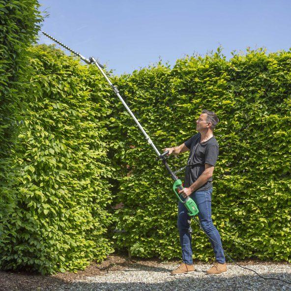 Taille haies télescopique Garden Feelings - Coupe 47 cm, 1000 W