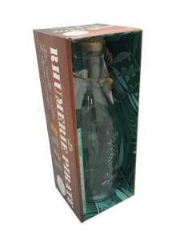 Coffret La rhumerie pirate - Les recettes secrètes de rhum arrangé - 1 bouteille, 1 étiquette et sa corde, 1 livre