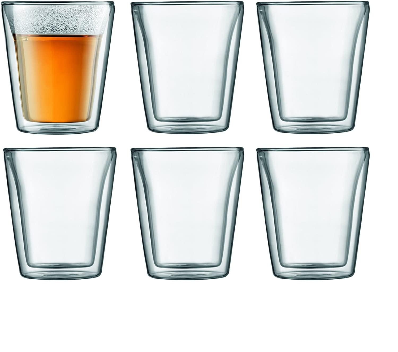 Coffret de 6 verres double paroi Bodum Canteen 10109-10-12 - 20 cl