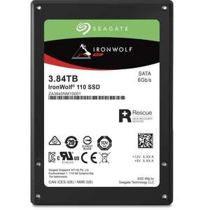 """SSD interne 2.5"""" Seagate IronWolf 110 SSD (3D TLC) - 3.84 To"""