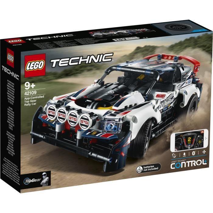 20% de réduction immédiate sur une sélection de Lego - Ex : LEGO Technic 42109 - La voiture de rallye contrôlée