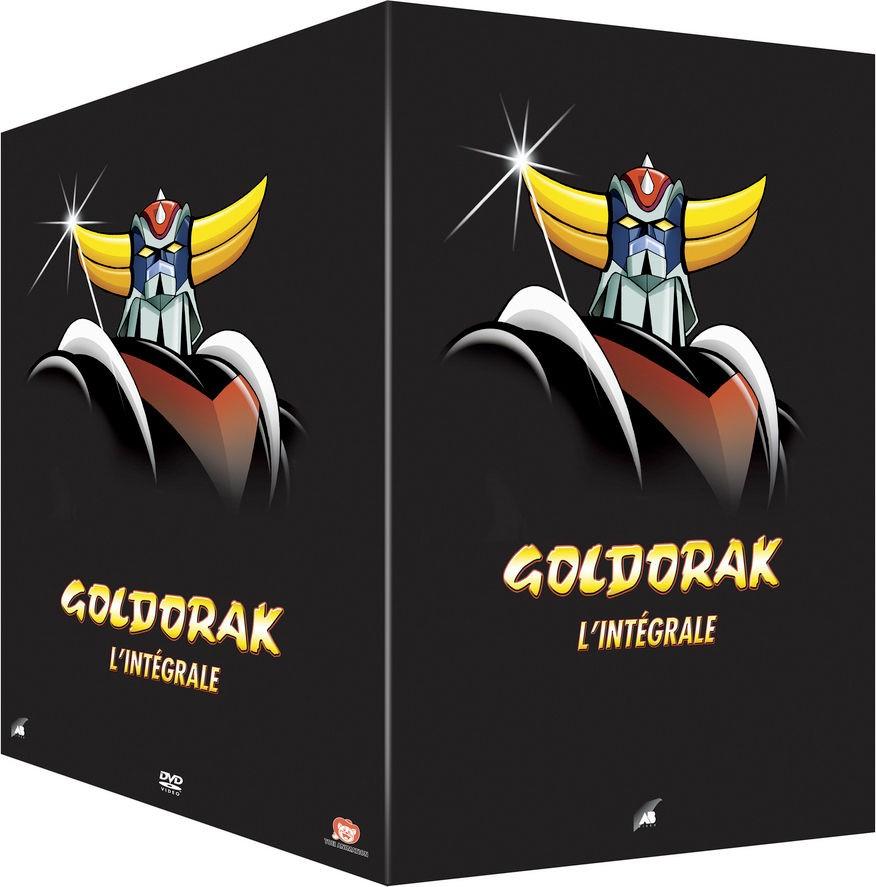 Coffret DVD série TV Goldorak - L'Intégrale (version non-censurée, 18 DVDs)