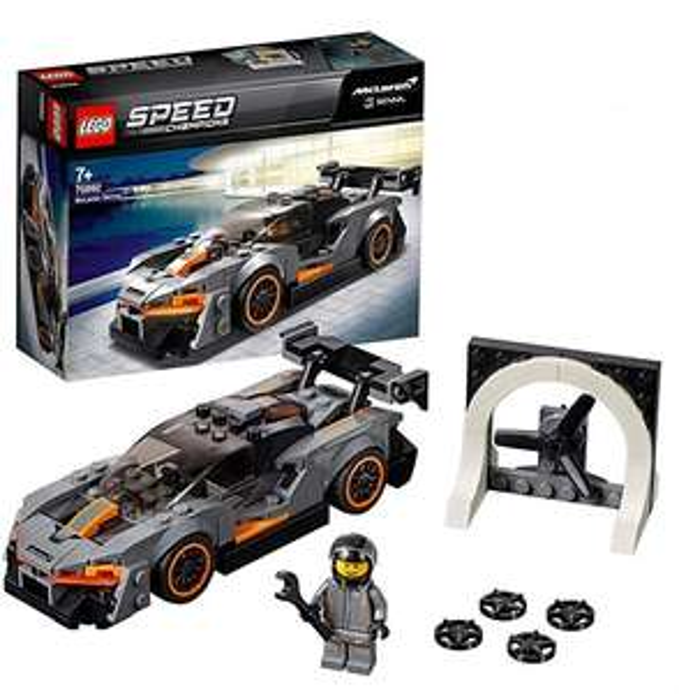 Jeu de construction Lego McLaren Senna Speed Champions n°75892